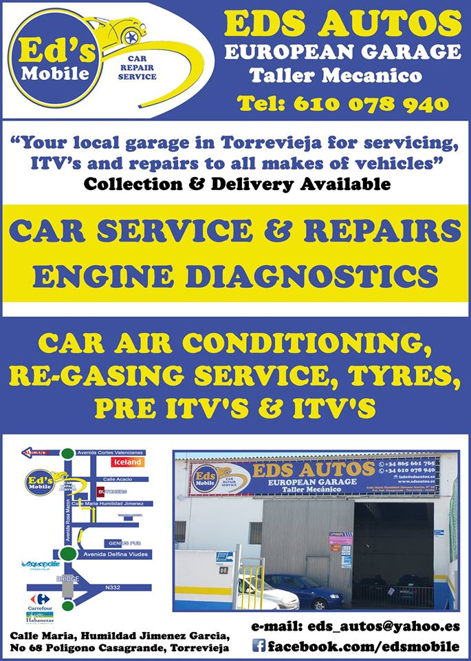 Ed's Mobile & Garage Services