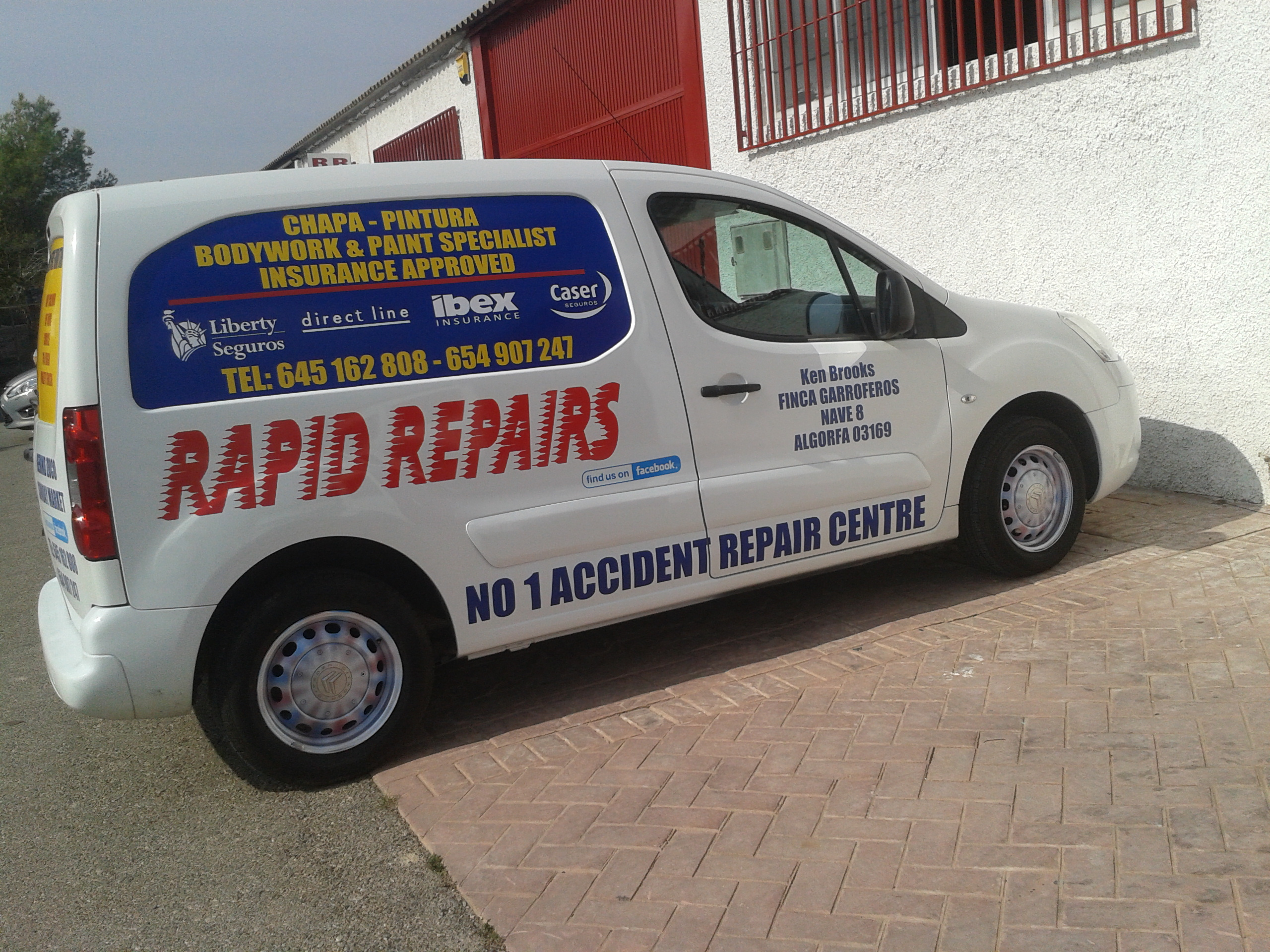 Rapid Repairs Bodywork and Paint Specialist
